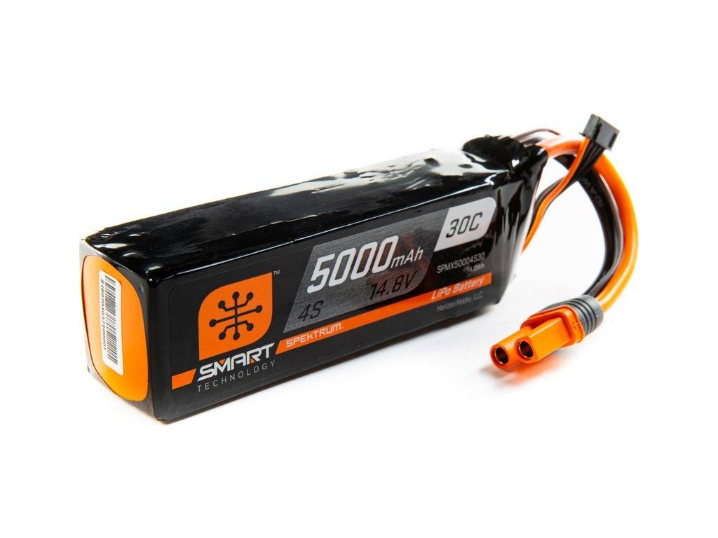 Spektrum Smart LiPo 14.8V 5000mAh 30C IC5