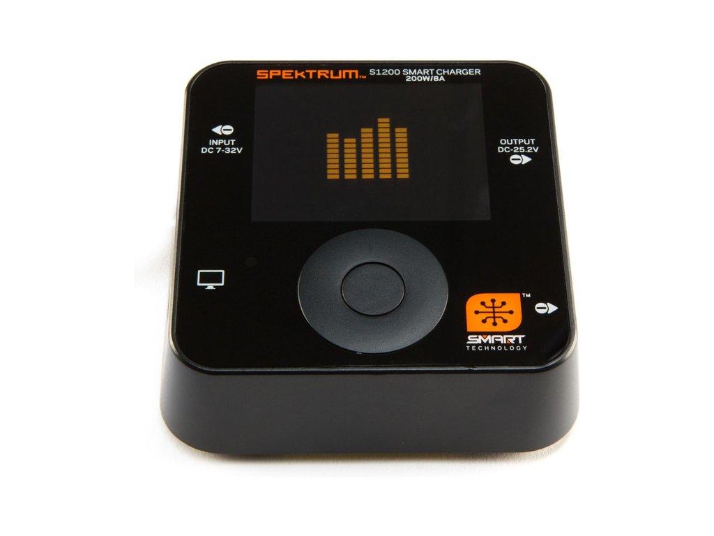 Spektrum Smart nabíječ S1200 1x200W DC