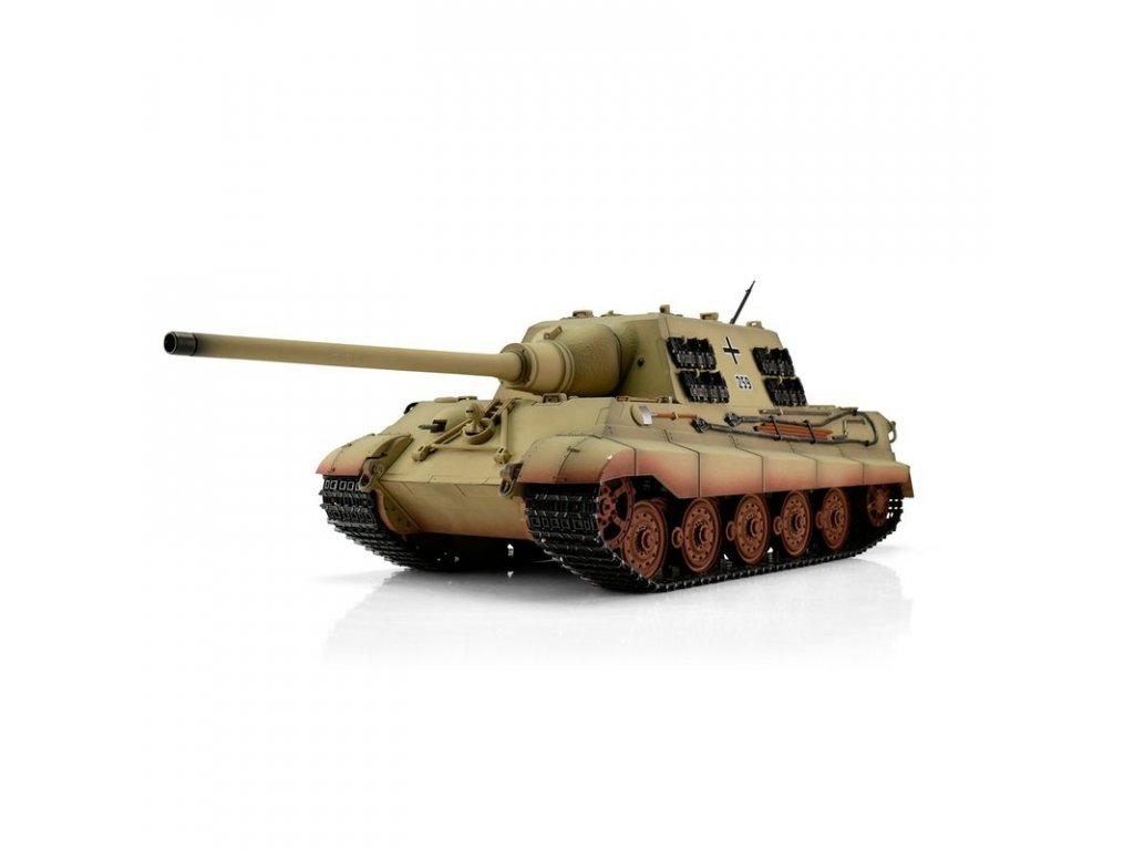 TORRO tank PRO 1/16 RC Jagdtiger pouštní kamufláž - infra IR
