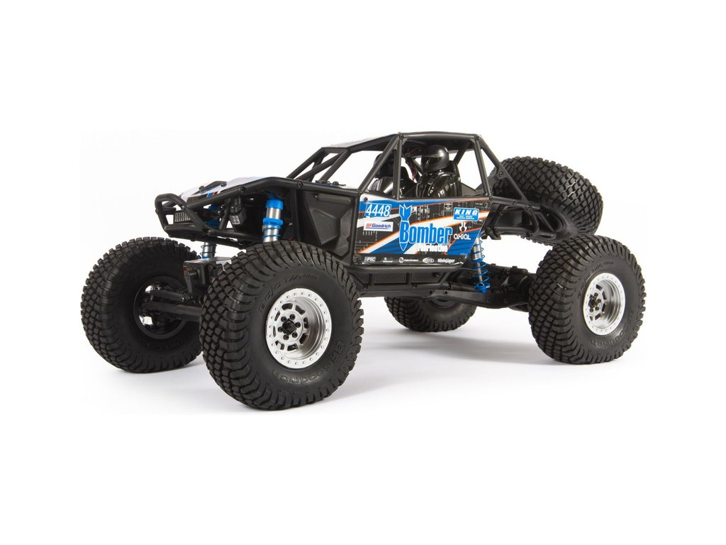 Axial RR10 Bomber 2.0 4WD 1:10 RTR modrý