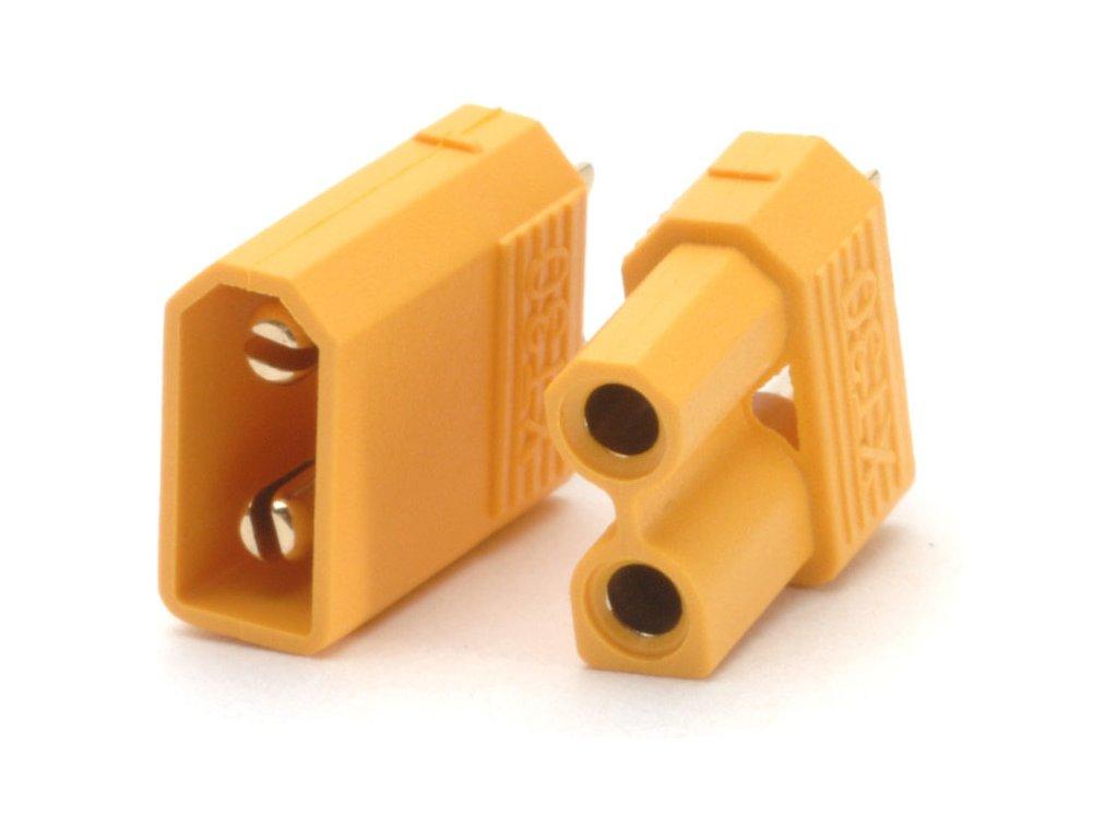 XT30 konektor samec + samice 2 páry