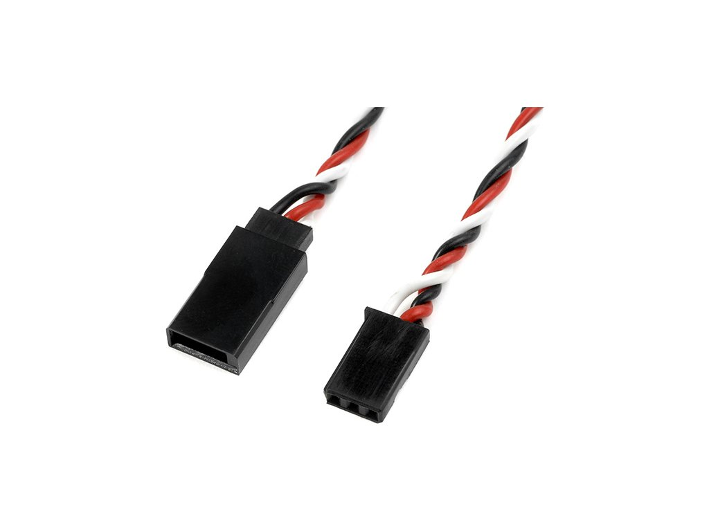 Kabel serva prodlužovací kroucený Futaba 22AWG HD 10cm
