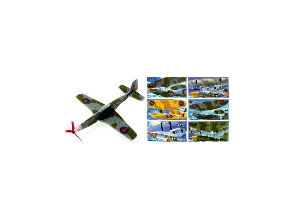 Házecí letadlo/házedlo 24 x 24 cm