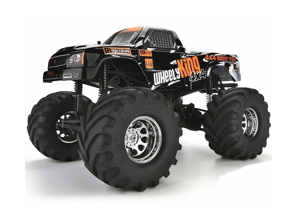 HPI106173 hpi monster wheely king 4wd rtr 1 12