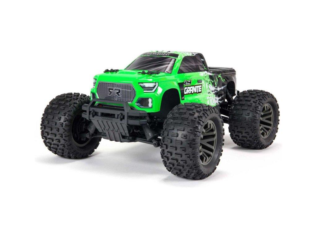 Arrma Granite 3S BLX 1:10 4WD RTR zelená
