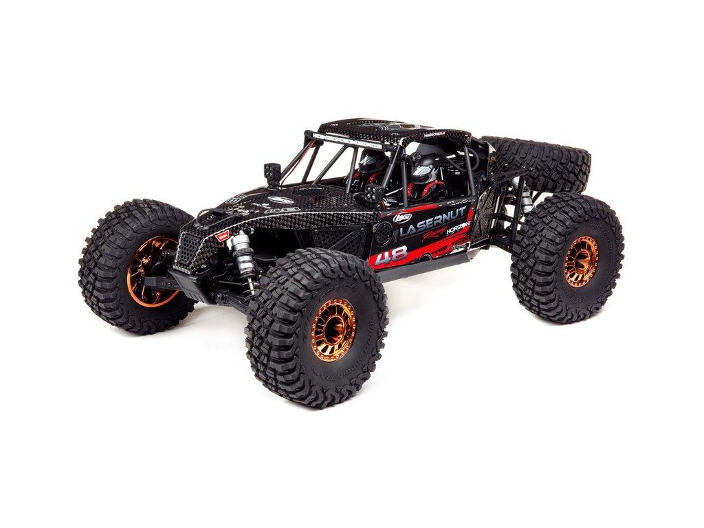 Losi Lasernut U4 1:10 4WD Smart RTR černý