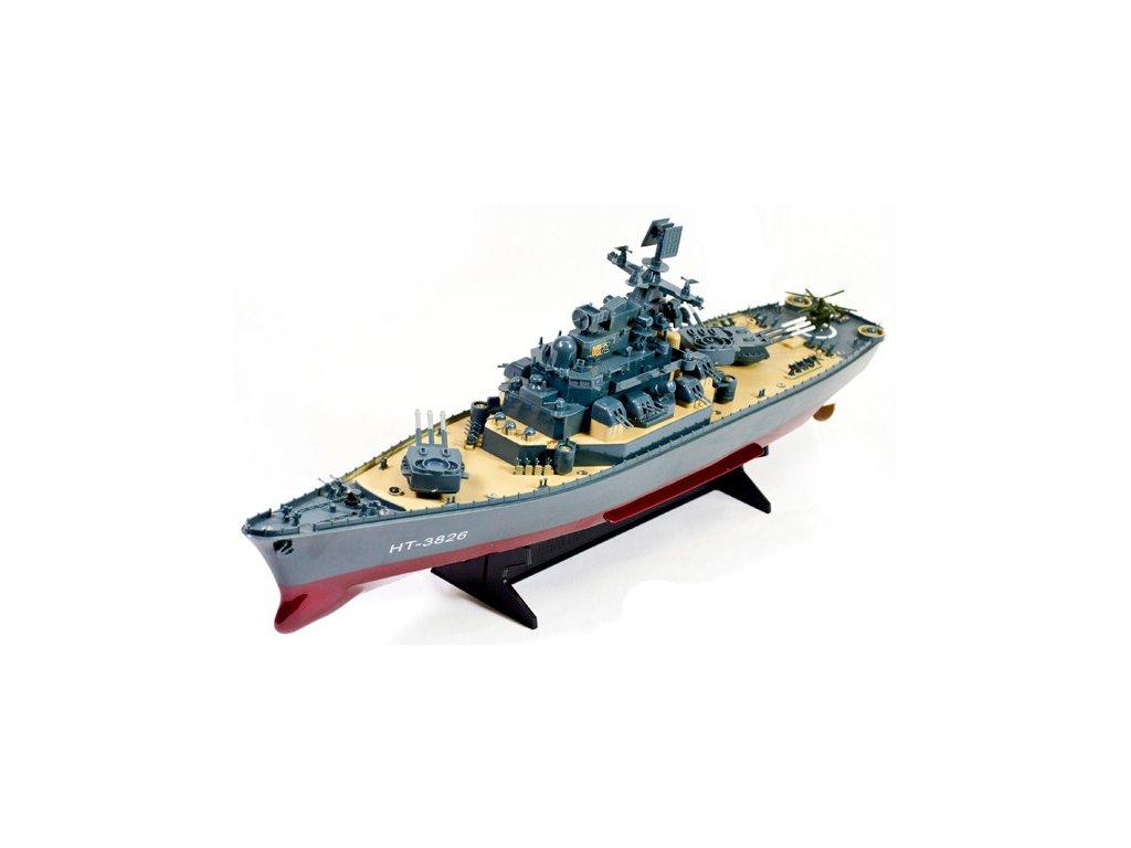 USS MISSOURI bitevní loď 1:250 RTR 2,4Ghz