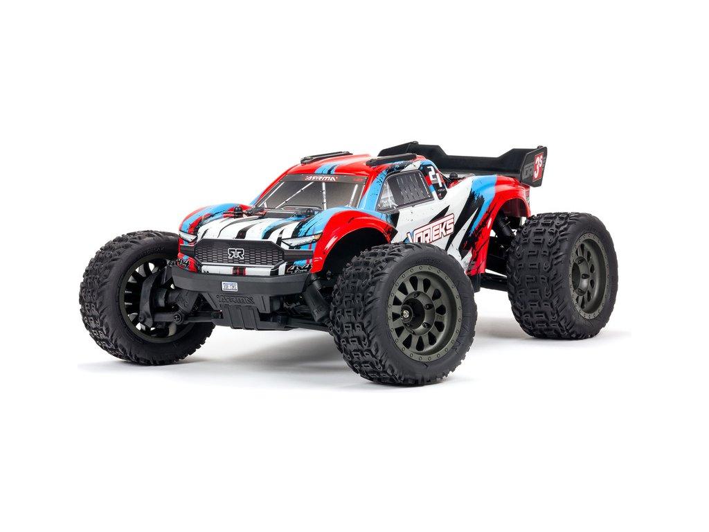 Arrma Vorteks 3S BLX 1:10 4WD RTR červená