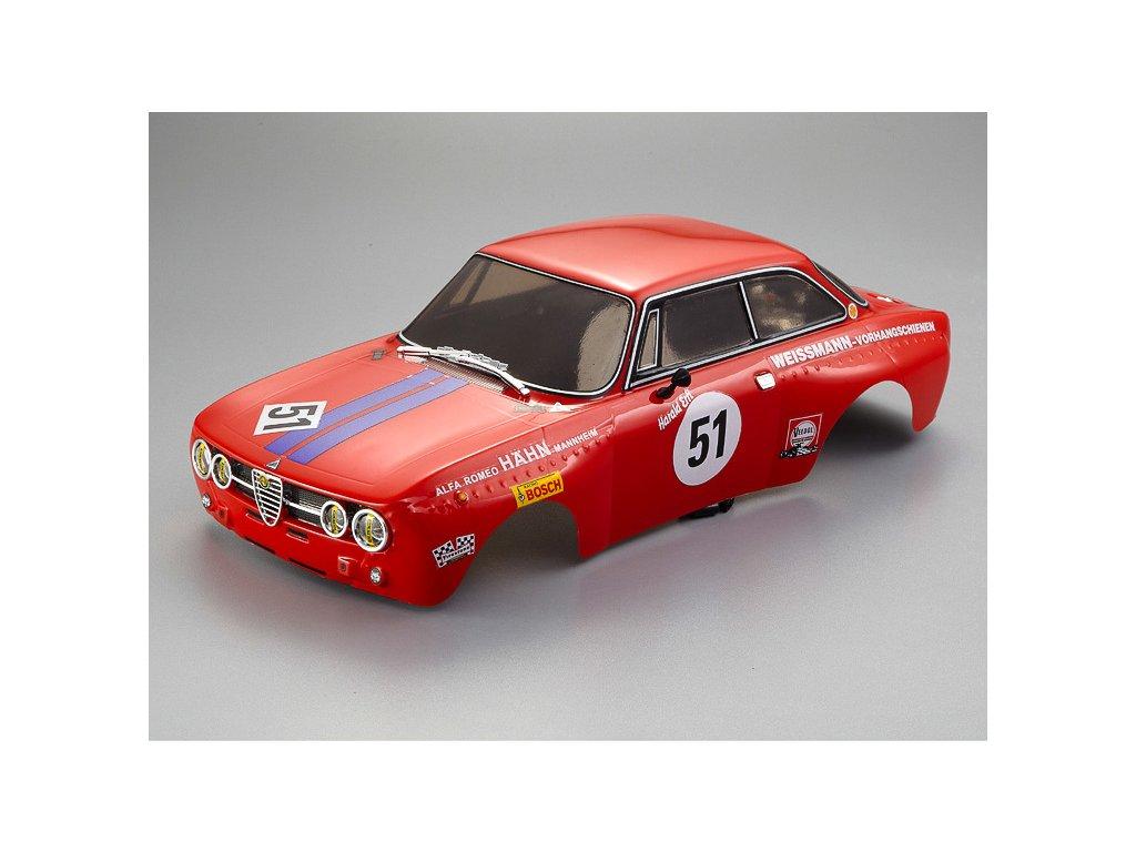 Killerbody karosérie 1:10 Alfa Romeo 2000 GTAm červená