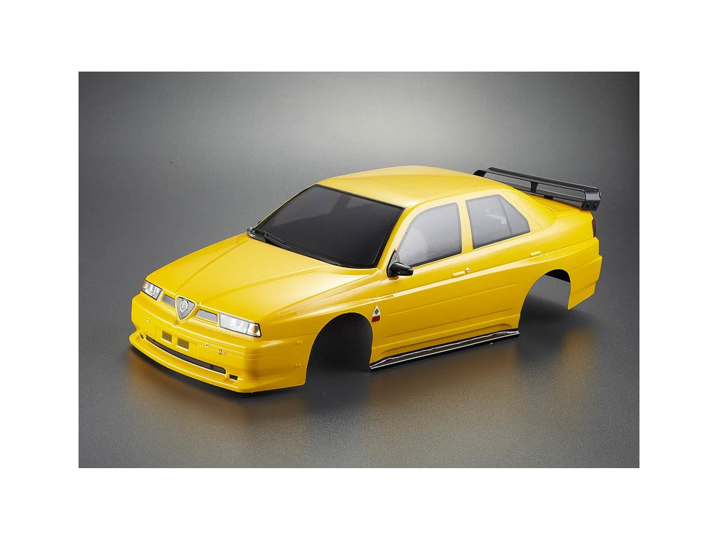 Killerbody karosérie 1:10 Alfa Romeo 155 GTA žlutá