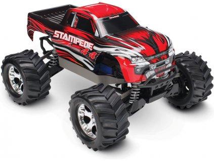 Traxxas Stampede 1:10 4WD RTR červený