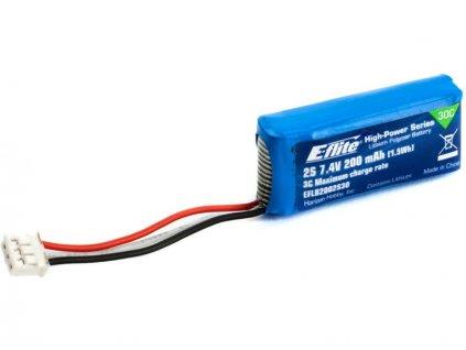 E-flite LiPo 7.4V 200mAh 30C JST-PH