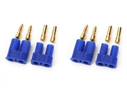 EC3 konektor samec + samice (2 páry)