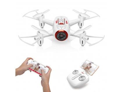 Syma X22W bílá, WIFI kamera, RTF set