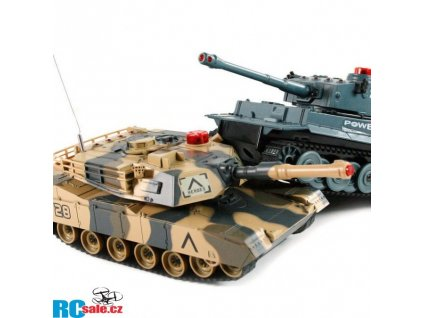 Sada bezpečných bojujících tanků 2,4 GHz