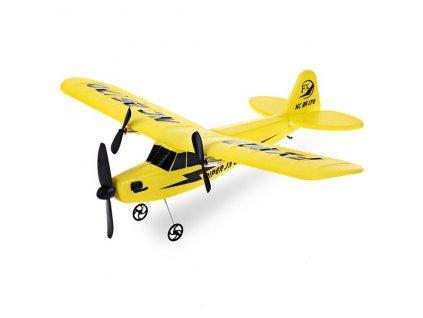 PIPER J-3 CUB RC letadlo 2 kanály 2,4 Ghz, 3 barvy