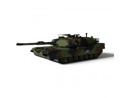 M1A1 Abrams 1:72- soubojový tank v excelentní ručně malované kamufláži