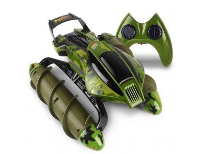 Šroubový obojživelník zelený maskáčový RTR sada