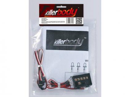 Killerbody světelná sada 1:10 6x LED, řídicí jednotka
