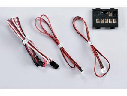 Killerbody světelná sada 1:10 4x LED, řídicí jednotka