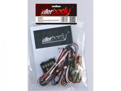 Killerbody světelná sada 1:10 10x LED, řídicí jednotka