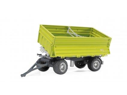 Přívěsný vozík FLIEGL s bočním vyklápěním pro CLASS 1:16