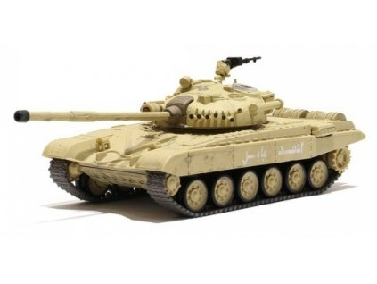 RC Tank Russian T-72 M1 Desert Yellow 1/72