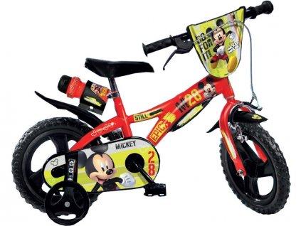 """DINO Bikes - Dětské kolo 12"""" Mickey Mouse"""