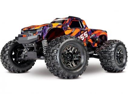 Traxxas Hoss 1:10 VXL 4WD TQi RTR oranžový