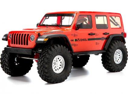 Axial SCX10III Jeep JLU Wrangler 4WD 1:10 RTR oranžová