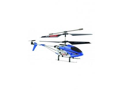 HELI C 908, 2.4 GHz, gyroskop, 2 rychlosti, LED, 100% RTF, modrá