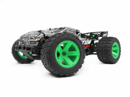 Quantum XT Flux 1/10 4WD Stadium Truck - Stříbrný