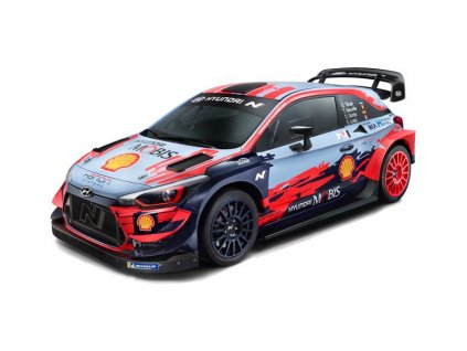 NINCORACERS Hyundai i20 Coupe WRC 1:10 2.4GHz RTR