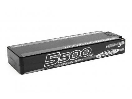 HV Ultra LCG Modified GRAPHENE-3 5500mAh Hardcase Akku - 7.6V LiPo - 120C/60C