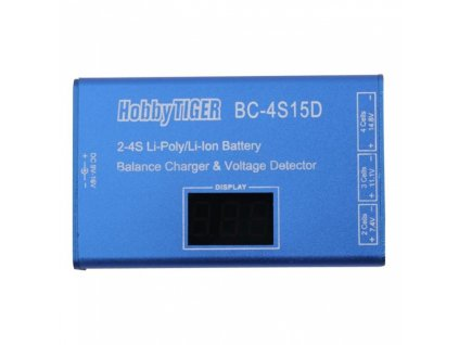 Nabíječka baterií BC 4S15D s displejem