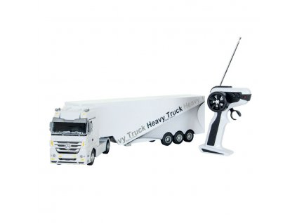 Siva Kamion Mercedes-Benz Actros 1:32 bílý