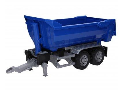 Přívěs sklápěcí vana modrý za CLAAS 50cm