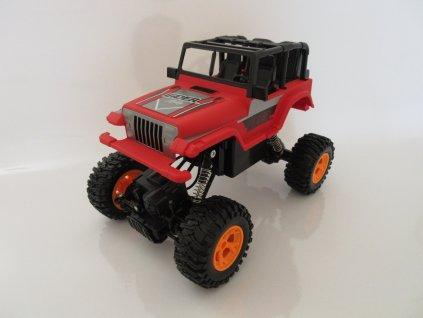JEEP LEADER AYBY Crawler 4WD, 1:16, 2.4 GHz, RTR,červený