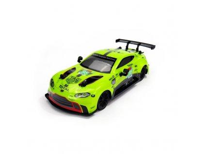 Siva Aston Martin VANTAG GTE, licencovaný model 1:24, ovladač pro praváky/leváky, RTR