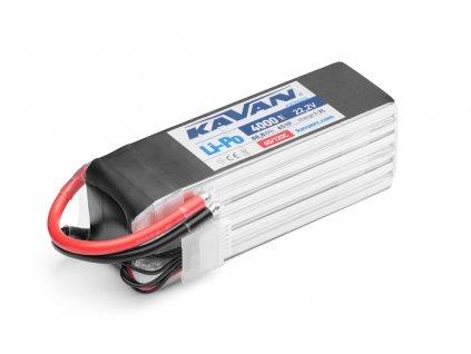KAVAN - Li-Po 4000 mAh/22,2 V 60/120C, 88,8 Wh
