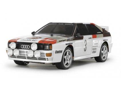 RC model auta Tamiya Audi Quattro Rally stavebnice
