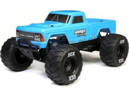 ECX AMP Crush 1:10 RTR modrý