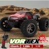 Monster Truck 1:12, 42km/h+ s akupackem RTR IP4 červená