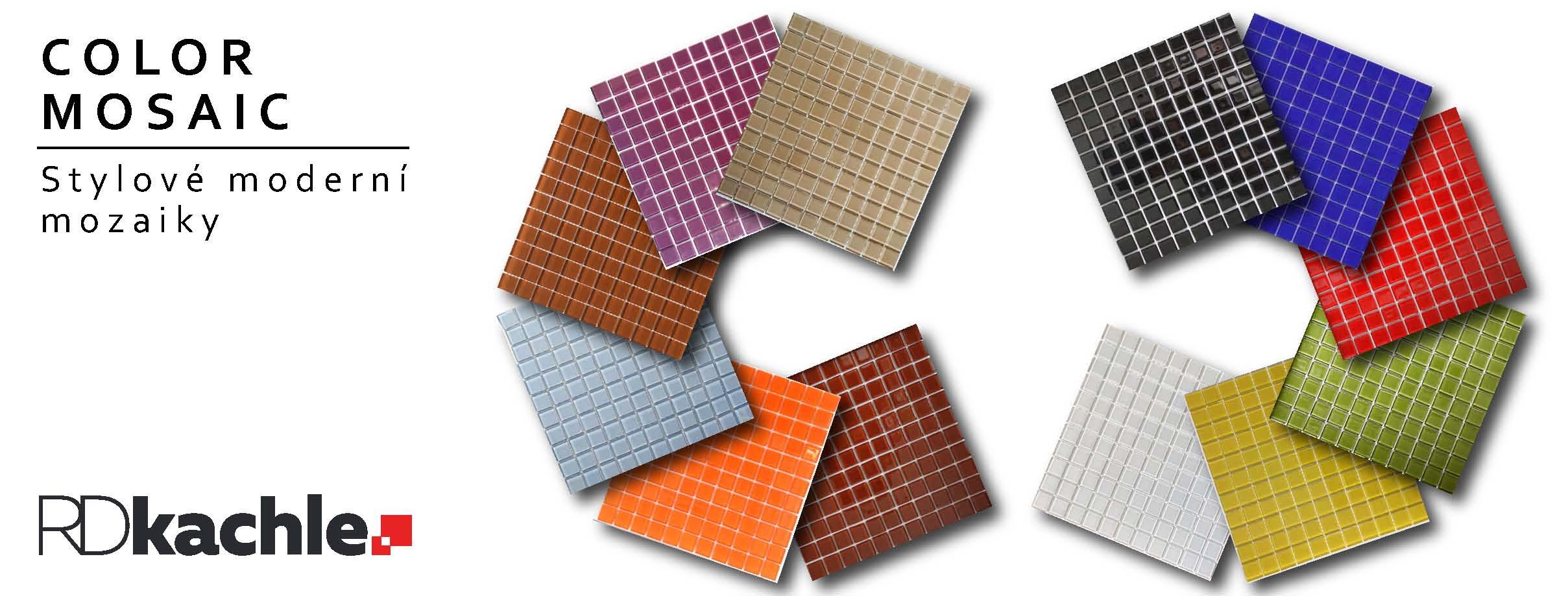 Mozaiky kusový prodej