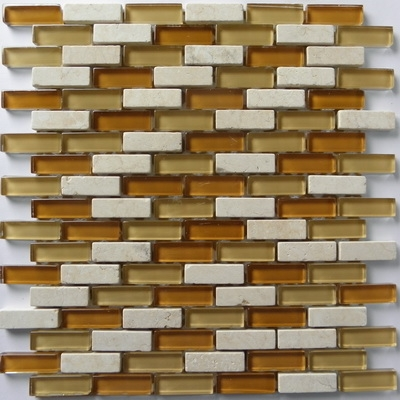 Mozaika sklo-kámen