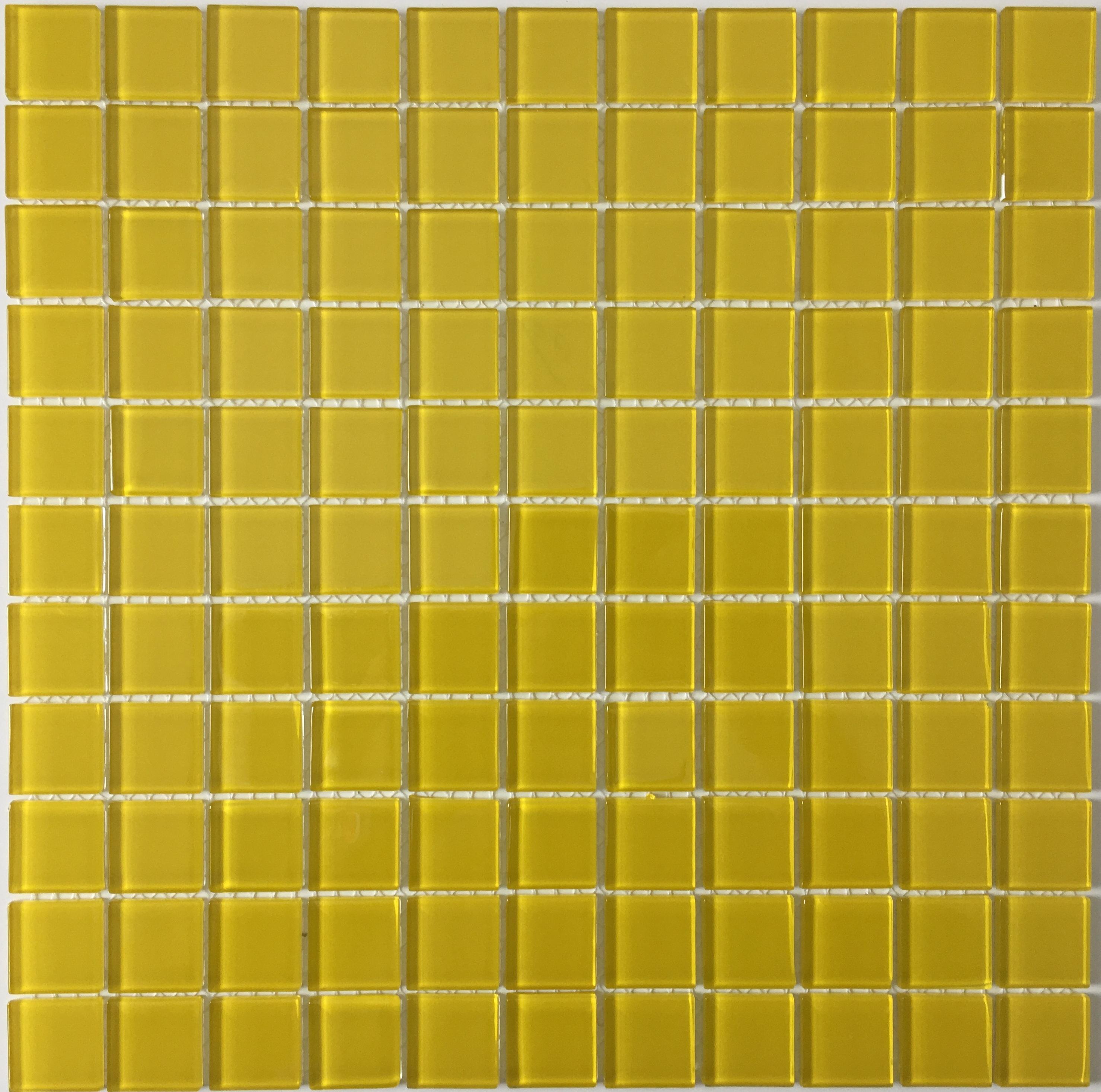 Skleněná mozaika normal jednobarevná