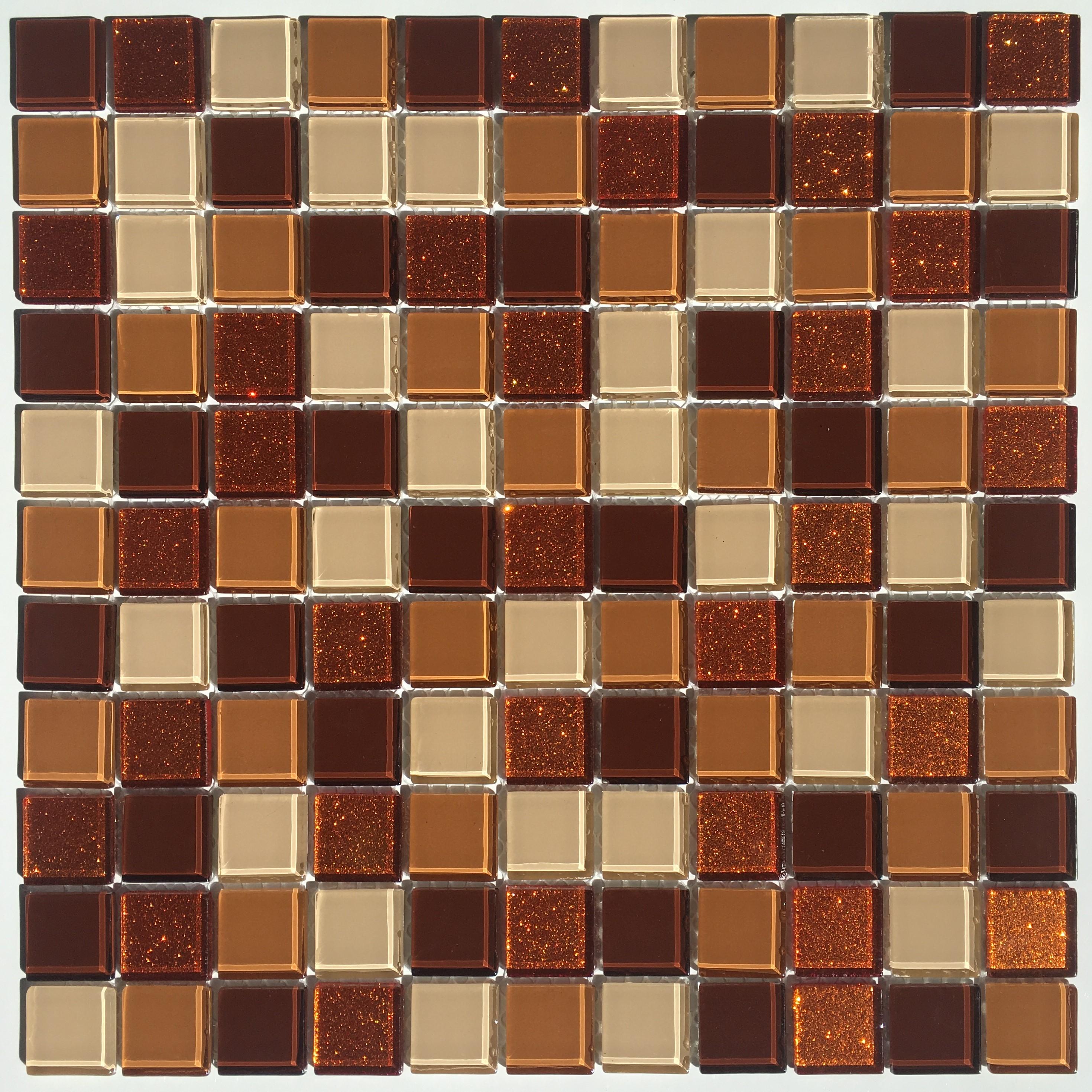 Skleněná mozaika třpytivá