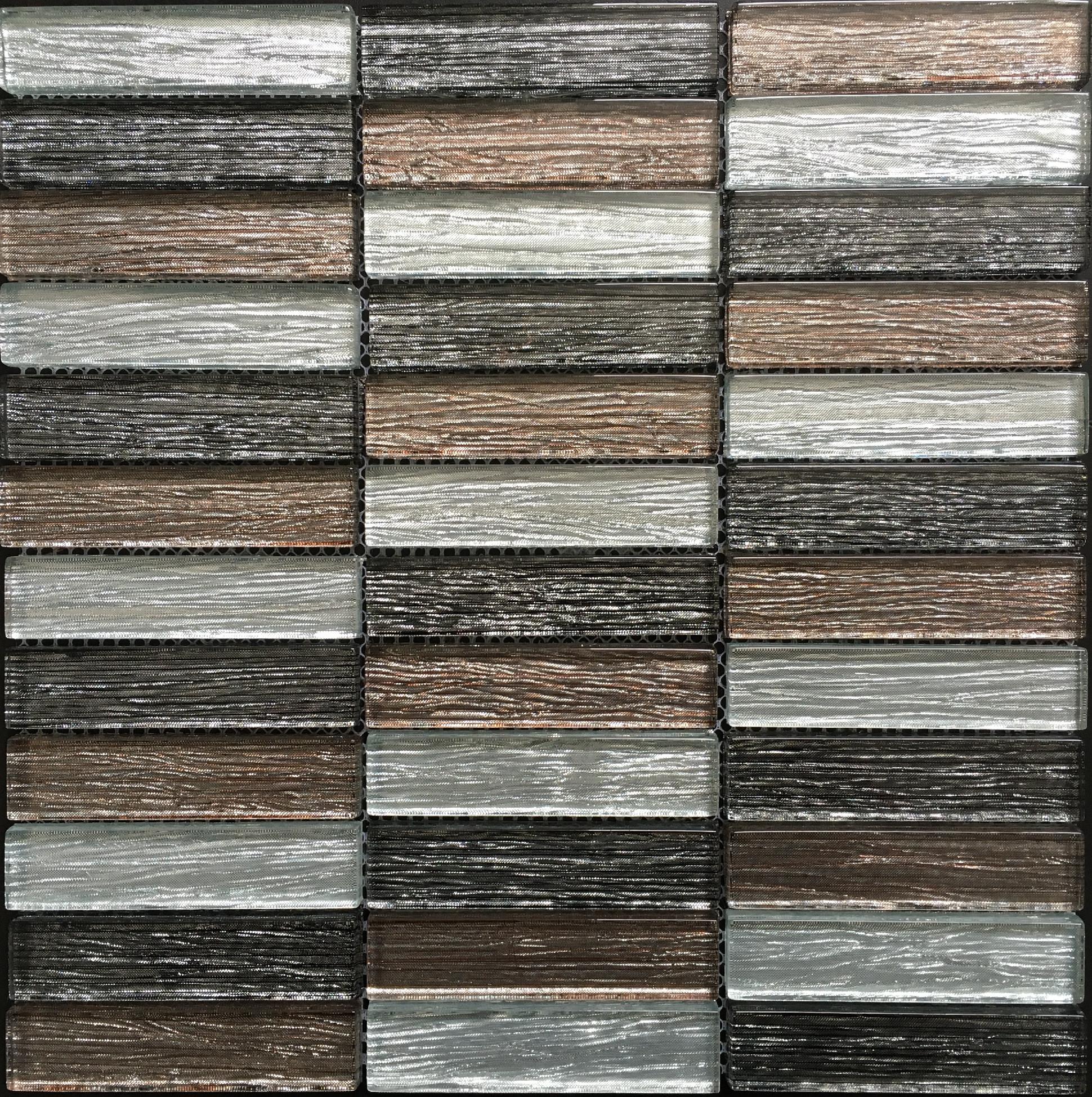 Skleněná mozaika malovaná