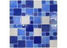 Skleněná mozaika recyklované sklo
