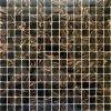 Skleněná mozaika tmavě hnědá